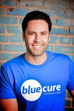 Prostate Cancer Blogger Gabe, bluecure